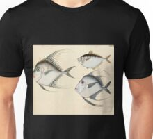 Naturgeschichte in Bildern mit erläuterndem Text E Strack 1820 Lief 4 Fish 037 Unisex T-Shirt