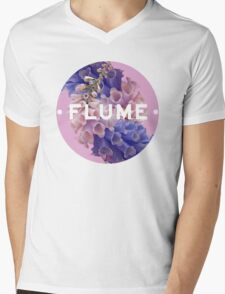 flume skin - circle Mens V-Neck T-Shirt