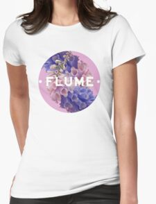 flume skin - circle Womens Fitted T-Shirt