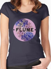 flume skin - circle Women's Fitted Scoop T-Shirt