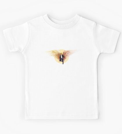 Feathers and Leather Kids Tee
