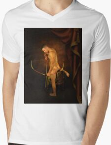 the embracing of shadows Mens V-Neck T-Shirt