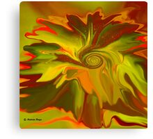 Life is Abstract-  Art + Products Design  Canvas Print