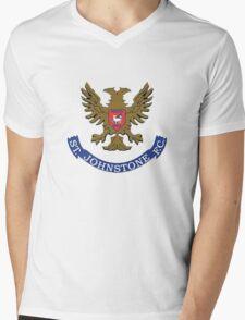 St Johnstone FC Badge -Scottish Premier League Mens V-Neck T-Shirt