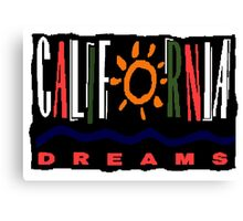 California Dreams - TV Show Canvas Print