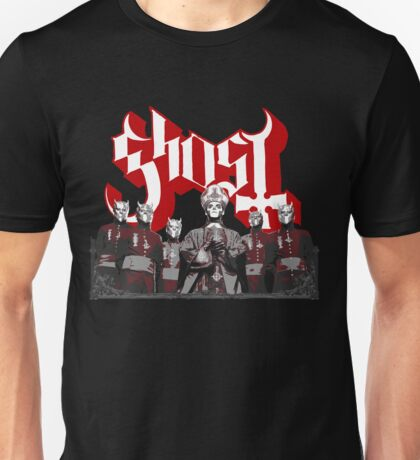 Papa Emeritus & Nameless Ghouls (Ghost Ghost BC) Unisex T-Shirt
