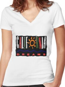 California Dreams - TV Show Women's Fitted V-Neck T-Shirt