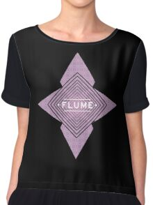 Flume - Stars black  Chiffon Top