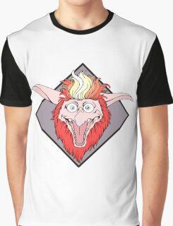 Labyrinth Firey Graphic T-Shirt