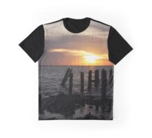 Dauphin Island Sunset Graphic T-Shirt