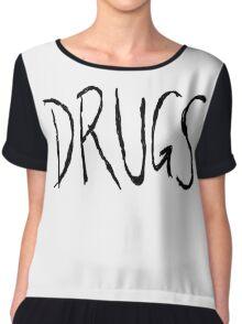 Kimmy's DRUGS shirt Chiffon Top