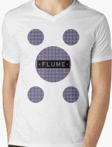 Flume - MultiRound  Mens V-Neck T-Shirt