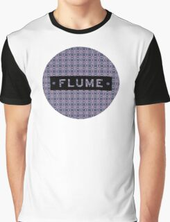 Flume - round Graphic T-Shirt