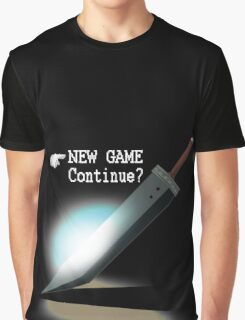 New Game / Continue? Graphic T-Shirt