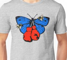 Butterfly, Bees and Boxing Gloves Unisex T-Shirt
