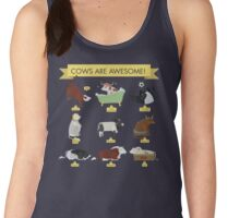 Cows are awesome! Women's Tank Top