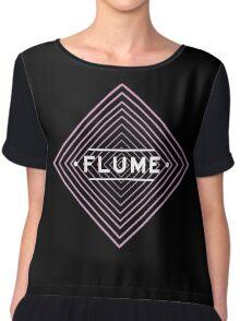 Flume spychedelic - Black Chiffon Top