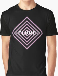 Flume psy - black Graphic T-Shirt