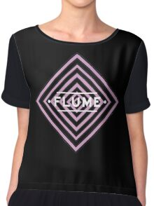 Flume psy - black Chiffon Top