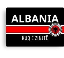 Albanian Football Team Canvas Print