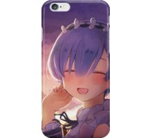 Anime: Re:Zero kara Hajimeru Isekai Seikatsu Rem iPhone Case/Skin