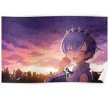 Anime: Re:Zero kara Hajimeru Isekai Seikatsu Rem Poster