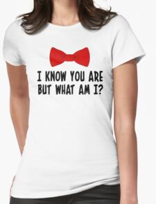 Pee Wee Herman - I Know You Are But What Am I? Womens Fitted T-Shirt