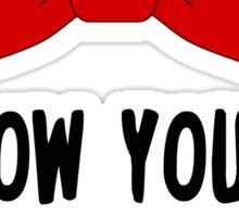 Pee Wee Herman - I Know You Are But What Am I? Sticker