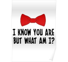 Pee Wee Herman - I Know You Are But What Am I? Poster