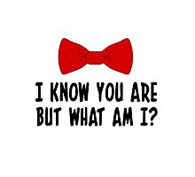 Pee Wee Herman - I Know You Are But What Am I? Photographic Print