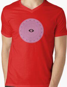 Flume circle Mens V-Neck T-Shirt