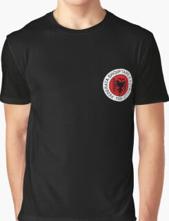 Albanian Football Team Graphic T-Shirt