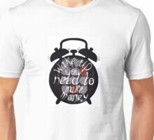 Stressed out clock Unisex T-Shirt