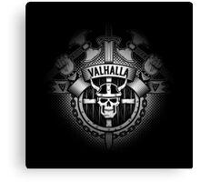 Valhalla skull logo Canvas Print