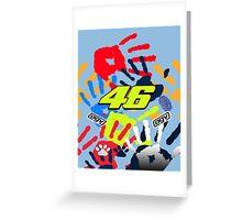 Valentino Rossi Misano Greeting Card
