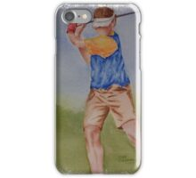 SPORTY - TEE TIME iPhone Case/Skin