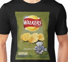 Walkers for Dogs - Snotty Hanky flavour Unisex T-Shirt