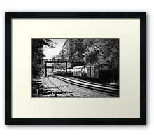 Dreamy Afternoon Train Framed Print