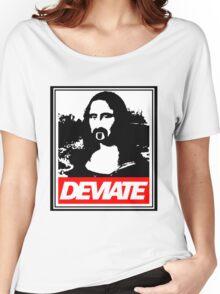 Deviate x Progress  Women's Relaxed Fit T-Shirt