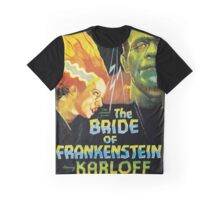 The Bride Of Frankenstein Graphic T-Shirt