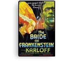 The Bride Of Frankenstein Canvas Print