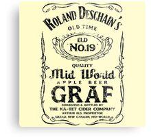 Roland Deschain's Mid-World Graf (Black) Metal Print