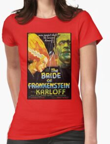 The Bride Of Frankenstein Womens Fitted T-Shirt