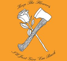 Foxy Shazam Axe And Flowers Classic T-Shirt