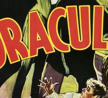 Dracula Sticker