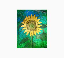 Young Sunny Beanstalk sunflower painting  Unisex T-Shirt