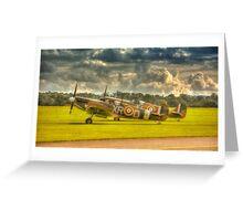Mk1 Spitfires Greeting Card