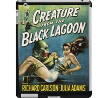 Creature From The Black Lagoon iPad Case/Skin