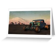 Competition Coupe 33 Greeting Card