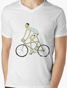 Rodney: bike Mens V-Neck T-Shirt